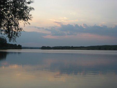 Зарыбление пруда в Степановке