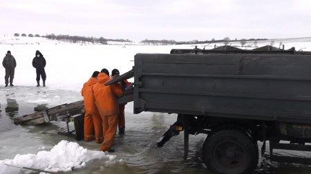 Очередное зарыбление пруда в Степановке